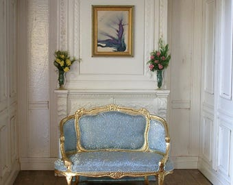 Miniature French Loveseat