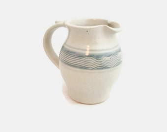 Vintage Studio Pottery Cream Pitcher or Syrup Pitcher