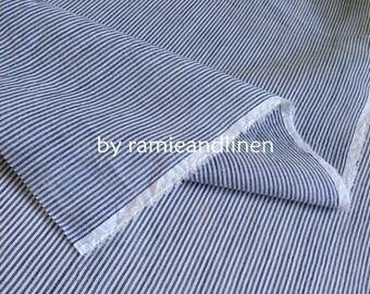 "stripes weaved fine ramie fabric, half yard by 58"" wide"