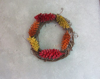 12 in Grapevine Fall Themed Wreath