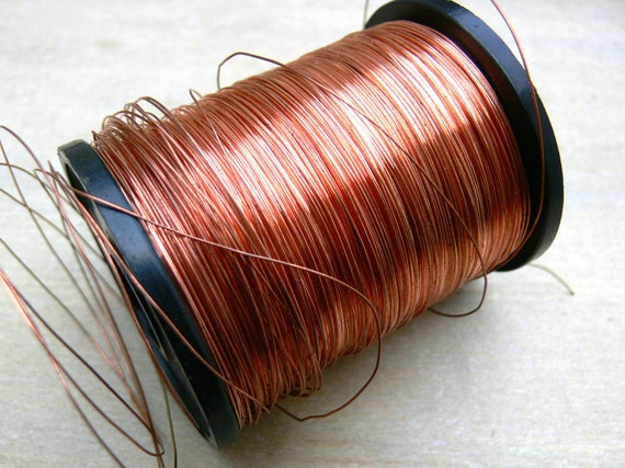 0.375mm round copper wire - 27g copper wire - bare copper wire ...