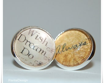 Earrings Wish dream do always for magical moments in life