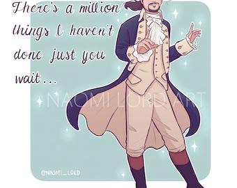 "Alexander Hamilton (Hamilton Musical) 8""x10"" Print"