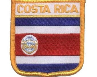 Costa Rica Patch (Iron on)