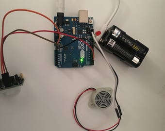 DIY Sensor Alarm Kit with Arduino Microcontroller