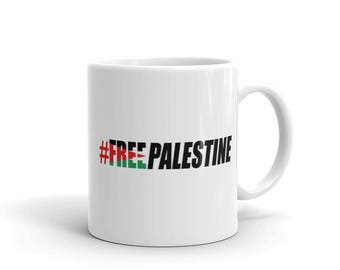 Free Palestine Coffee Mug-Palestine liberation