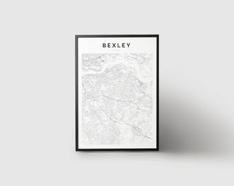 Bexley Map Print
