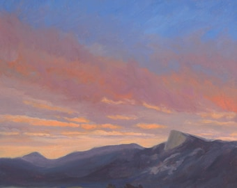 August Sunset - Tooth of Time - Philmont - New Mexico - Open Edition Fine Art Landscape Print