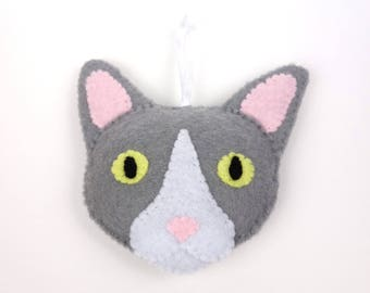 Felt Cat Ornament