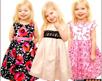 Easy Sewing Dress Romper Patterns Girls Children Baby By
