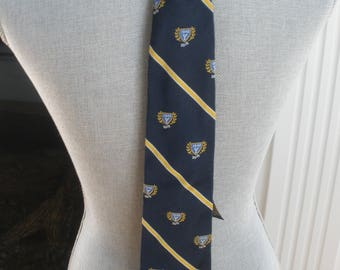 Yale University 50th Anniversary Necktie For Class Of 1942