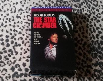 The Star Chamber [VHS] Thriller VHS Tape 80's Movie Vintage VHS Tapes Michael Douglas Vhs thriller 1980's Movie Vhs tape