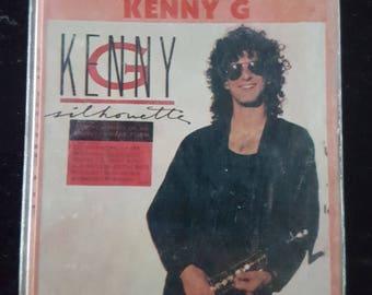 Kenny G - Silhoutte Vintage Cassette Tape