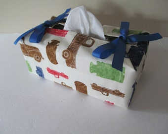 Tissue Box Cover/Milk Truck