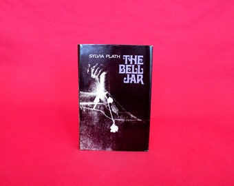 The Bell Jar By Sylvia Plath. 1971 First Edition Hardcover Book. Sylvia Plath First Book Club Edition Bell Jar Hardcover. Book Gift.