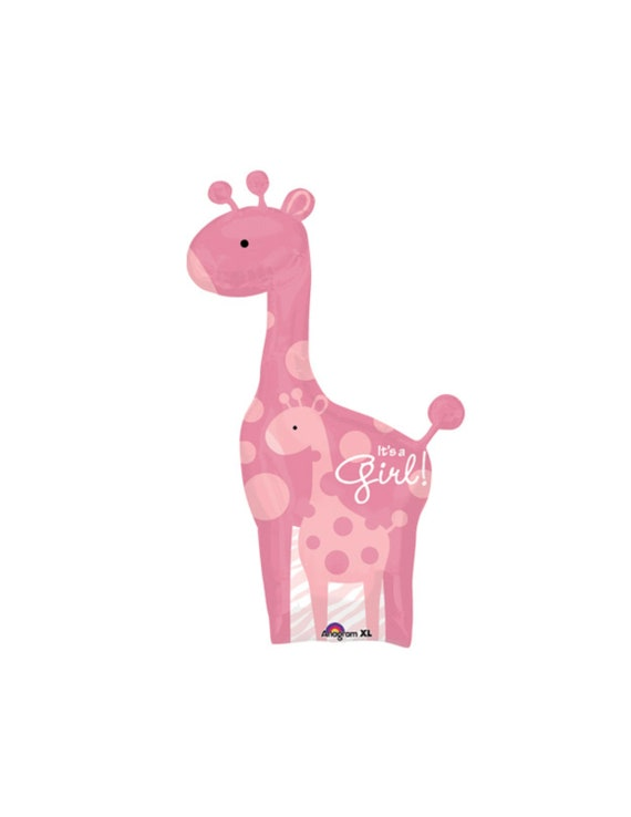 Giraffe Balloon Giraffe Baby Shower Safari Baby Shower Jungle