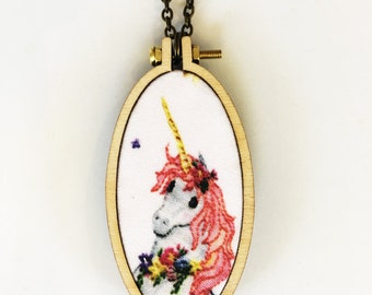 Unicorn hoop Pendant