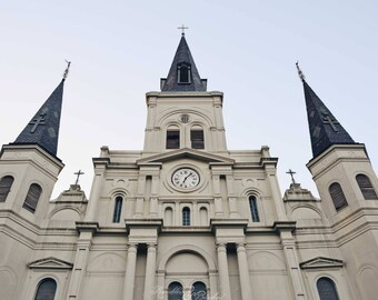 New Orleans- NOLA- French Quarter- Architecture- St. Louis Cathedral- Perspective- Fine Art Photography