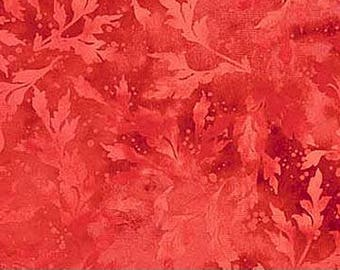Essence~Hot Chili Red Cotton Fabric, Quilt, Home Decor, by Northcott~Fast Shipping,SB574