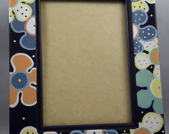 Flower Power Picture Frame