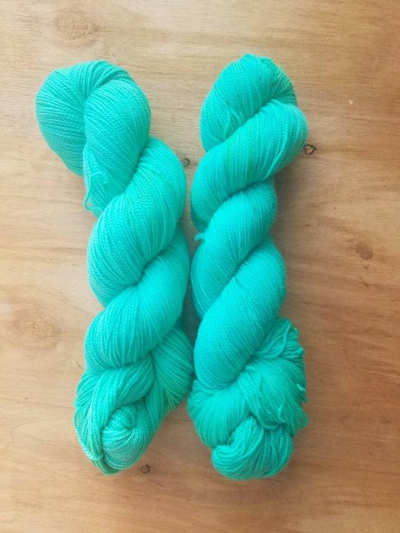 Lace Dyed Eggs - Everyday - Superwash Merino Nylon - 460 yards