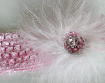 Feather Puff Headband