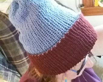 Reversable winter hat