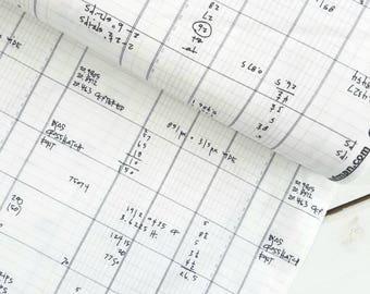 Architextures - Ledger(Grey/White Background) - Carolyn Friedlander - Robert Kaufman