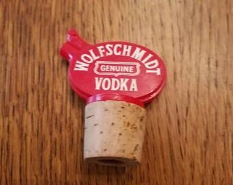 Wolfschmidt Vodka Liquor Bottle Topper\Server Cocktail Party