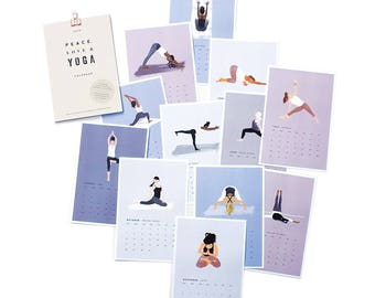SALE! 2018 Yoga Desk Calendar