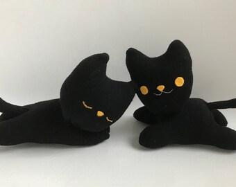 Black Sock Cat Plush