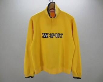 ixi z Sweater Vintage ixi z Pullover ixi z Sport Sweat Turtleneck Men's Size L