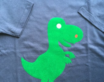 Dinosaur t-shirt and top for toddlers and youths