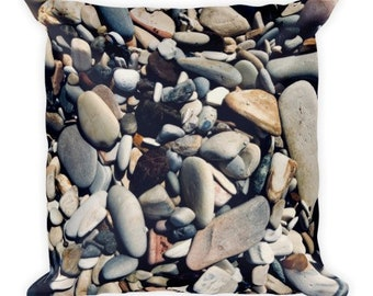 Soft as Stones C - pebble pillow - Home Decor Pillow Covers - 2 sizes available