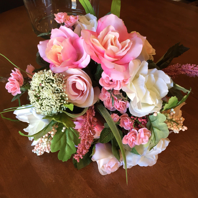 Boho wedding bouquet silk flower bouquet artificial bouquet zoom mightylinksfo