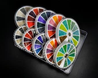 Delica Bead Color Wheels