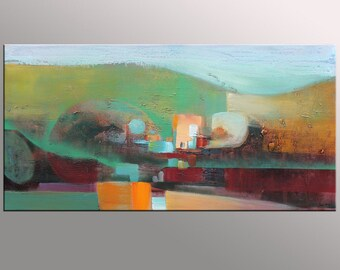 Abstract Art, Large Wall Art, Original Art, Canvas Art, Abstract Oil Painting, Large Abstract Painting, Master Bedroom Decor, Contemporary