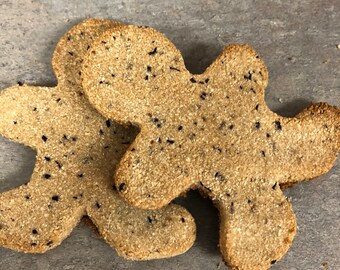 Peanut Butter and Berry Dog Treats