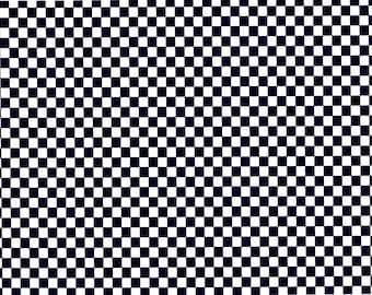 Black Checker Board Background Birthday - Edible Cake and Cupcake Topper For Birthday's and Parties! - D2965