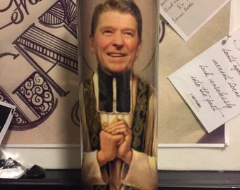 St Ronald Reagan Prayer Candles
