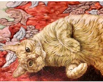 Custom Pet Portrait, Oil Painting, Pet Portrait, Handpainted, Wall Art, Pet Art
