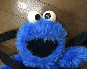 Retro Cookie Monster Backpack sold in Japan