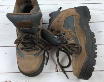 VTG LL Bean Gore Tex Hiking Work Boots Outdoor Size Womens 6.5