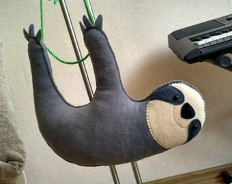 Plush Sloth - Lazy Sloth Stuffed Animal - Kidsroom Decor