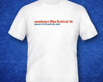 Sundance Film Festival 2018 Park City Utah Graphic T Shirt Sundance 18 Utah Film Festival Sundance Park City Film Festival