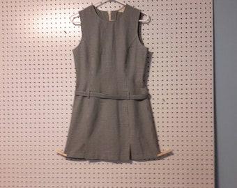 J Crew Check dress size 6