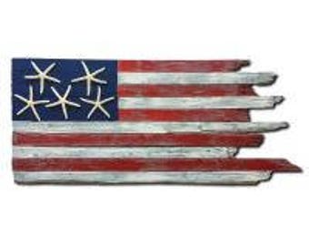 Handcrafted Coastal Flag - Old Glory
