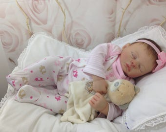 Custom made to order Reborn doll Meg by Marrissa May baby girl or boy reborn baby