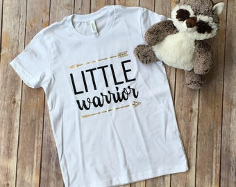 Little Warrior - Kids Cancer Shirt