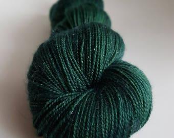 Skein of Superwash Merino - Nylon - Stellina / Fingering / Sock hand - dyed colors Fourchelangue
